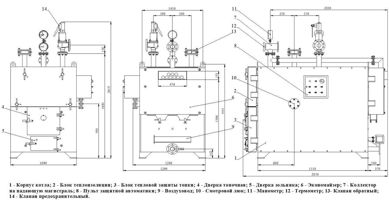 блочные водогрейные котельные комплектации «эконом».