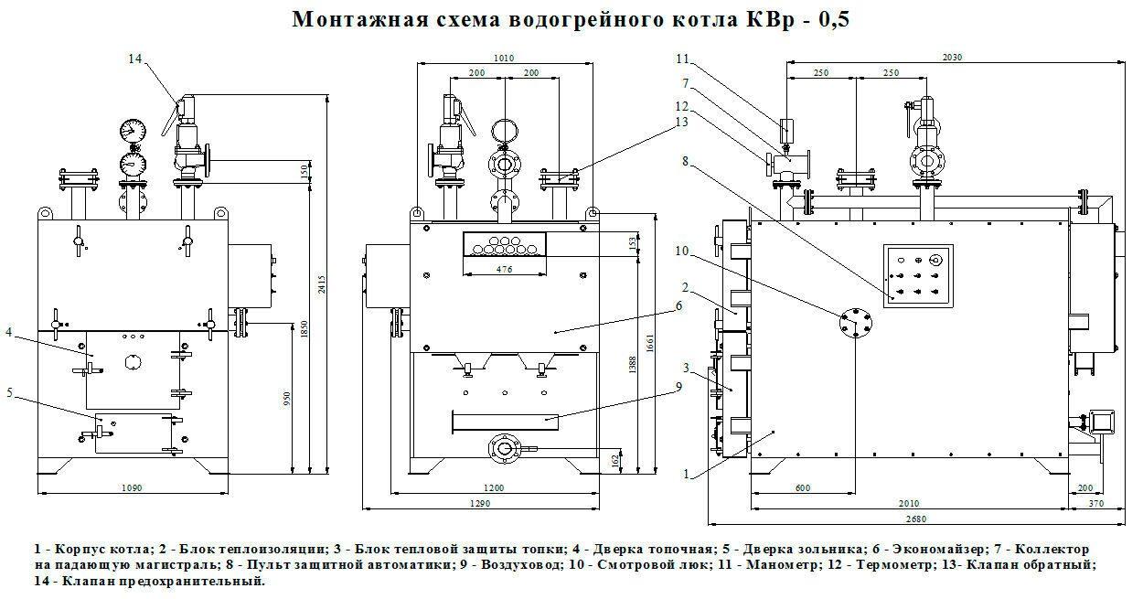 тепловая схема блочно модульной котельной оао бкмз